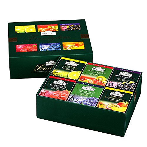 London Fruit Tea (Ahmad Tea Fruity Tea Teabags, 60 Count)