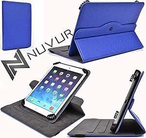 (Dodger Blue) Rotating Stand Flip Stand Cover Case Kaser YF726-8G NuVur &153; |MU08ARB1|