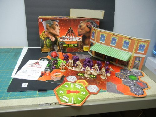 Small Soldiers: 3-D Big Battle Game Gorgonites Vs Commando Elite, Command Your Army!