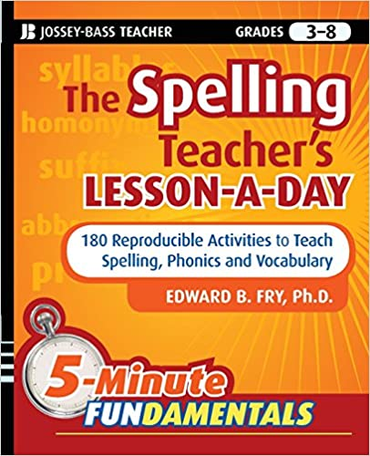 Amazon.com: The Spelling Teacher's Lesson-a-Day: 180 Reproducible ...
