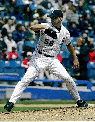 Mark Buehrle Chicago White Sox Unsigned Baseball Photo