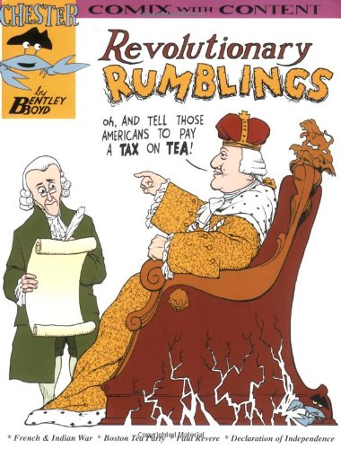 Read Online Revolutionary rumblings (Chester the Crab's comics with content series) (Chester the Crab's Comix With Content) PDF