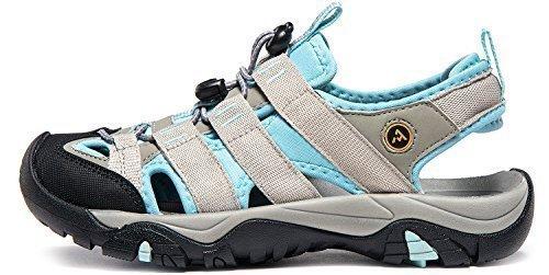 AT-W107-GSB_Women 7 B(F) Atika Women's Sports Sandals Trail Outdoor Water Shoes 3Layer Toecap W107