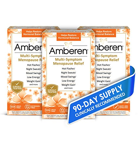 Amberen: Safe Multi-Symptom Menopause Relief. Clinically Shown to Relieve 12 Menopause Symptoms: Hot Flashes, Night Sweats,…