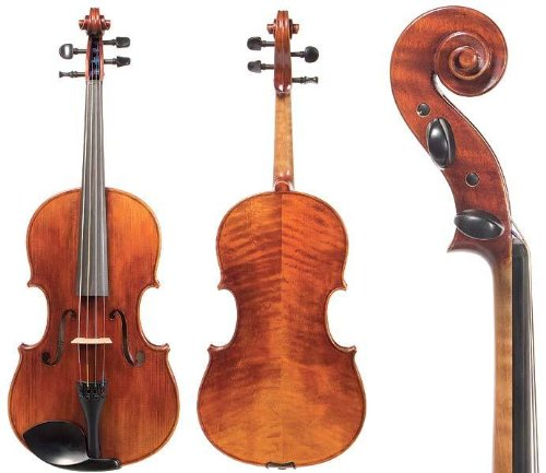 D Z Strad Model 700 Viola 15'' Outfit with Bow, Helicore Strings, Bow, Shoulder Rest, and Rosin. 15  Inch by D Z Strad