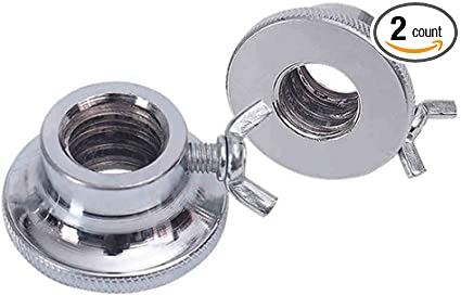 2PCS Hex Nut Threaded Durable Spin-Lock Collar Screw for Dumbell