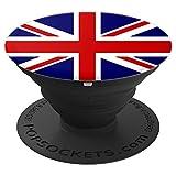 English flag phone holder %2D PopSockets