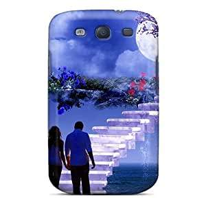Tpu Fashionable Design Couple Rugged Case Cover For Galaxy S3 New