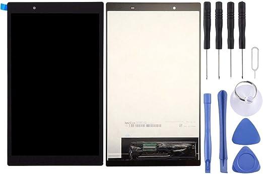Lenovo Tab4 8 / TB-8504X / TB-8504(ZA2B0050RU)(ブラック)用の新しいLCDスクリーンとデジタイザーフルアセンブリ Bingez (色 : Black)