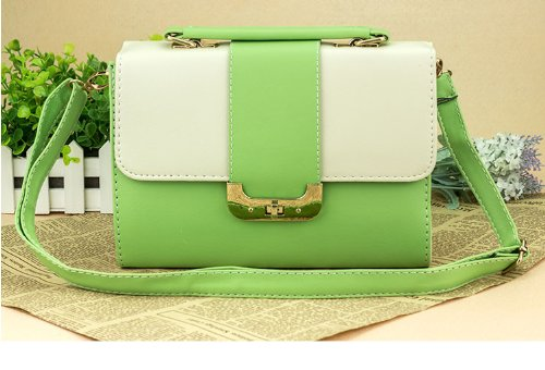 2014 New Summer Fashion Handbag Shoulder Lock Bag (green)