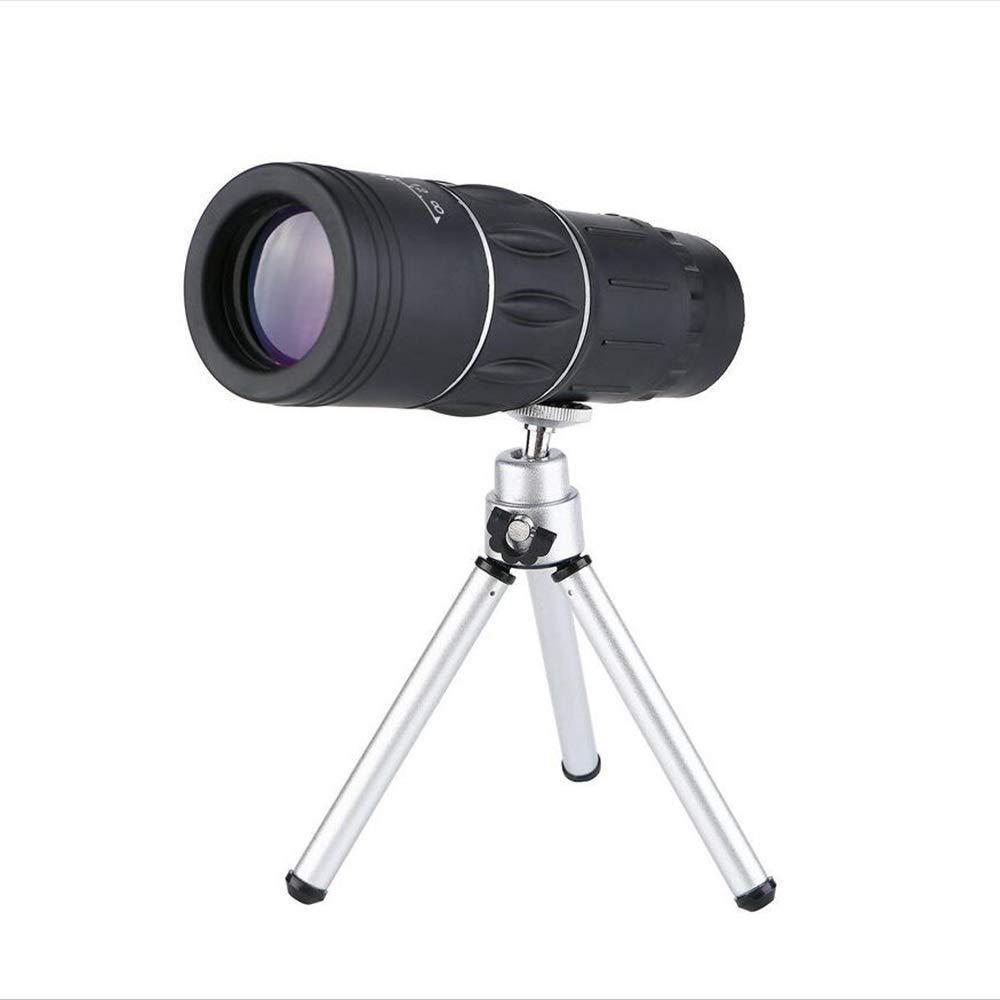 Stativ+Feder Handyhalter  QFQ Jumelles Télescope de Poche portable Haute définition 16 × 52 à Double réglage pour l'observation des Oiseaux, la randonnée, la Chasse et la Visite Touristique