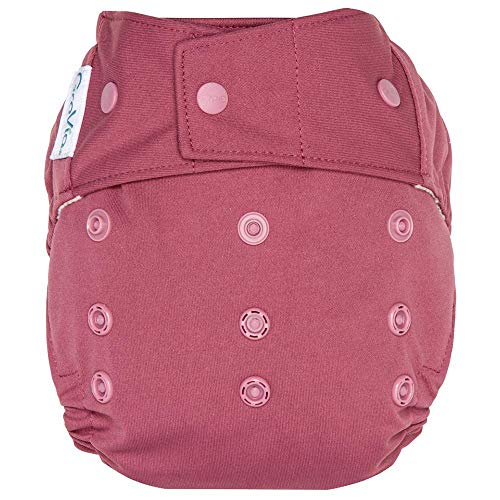 GroVia Reusable Hybrid Baby Cloth Diaper Snap Shell (Petal) ()