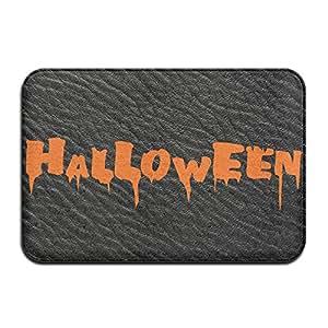 """Halloween Calabaza Fiesta Horror rectangular Felpudo personalizado cómodo diámetro 40x 60cm/15,7x 23.6"""""""" Memory alfombrilla de espuma para absorción"""