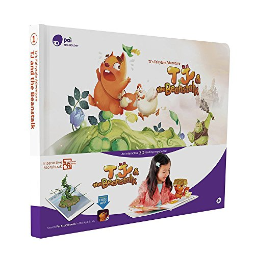 Pai Storybook 3D Fairy Tales For Childrens Book  Tj   The Beanstalk  Hardcover