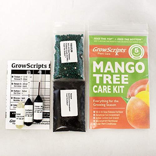 Amazon Com Growscripts 5pc Mango Tree Care Kit For Small