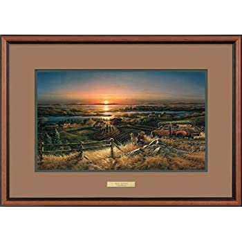 this item best friends by terry redlin encore ii framed print open edition