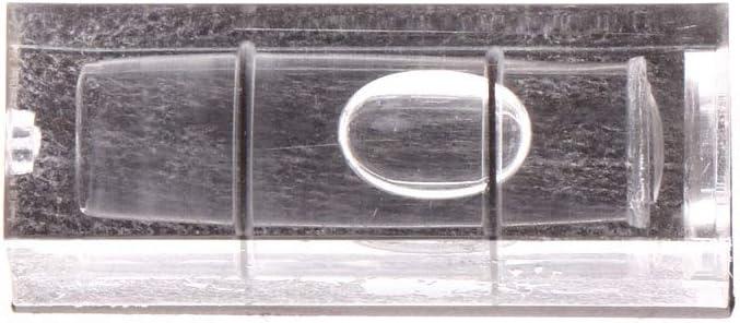 BIlinli Mini Spirit Wasserwaage Bild H/ängende Messwerkzeuge mit Magnetstreifen 29x11x10mm