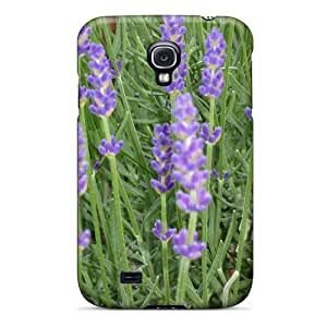Kimmith Scratch-free Phone Case For Galaxy S4- Retail Packaging - Lavendel
