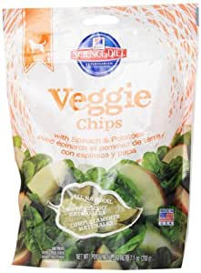 Hill's Science Diet Veggie Chips with Spinach and Potatoes Dog Food, 7.1-Ounce Pouch