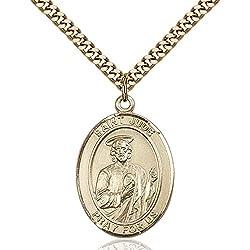 Gold Filled St. Jude Thaddeus Pendant