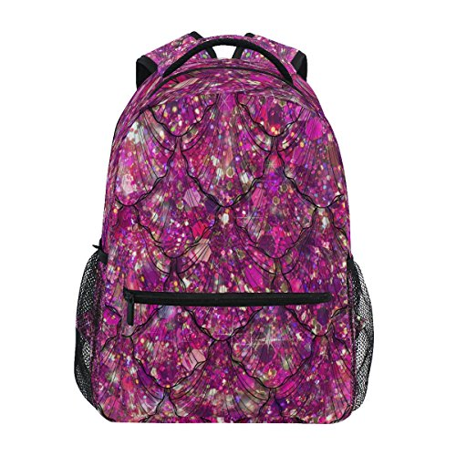 Daypack ZZKKO Bag Scale Mermaid Travel Camping Backpacks School Colorful College Hiking Book qZP61q