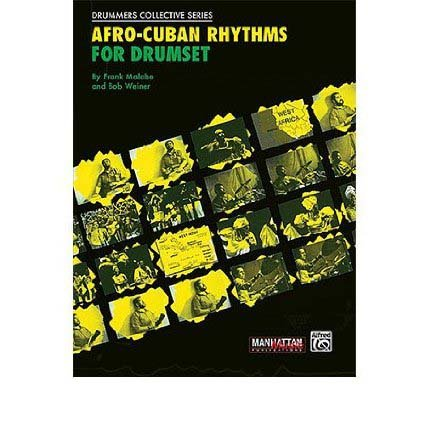 Afro-Cuban Rhythms for Drumset Book/CD