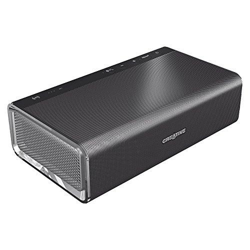 Creative Ipod Speakers (Creative Sound Blaster Roar: Portable NFC Bluetooth Wireless Speaker with aptX/AAC. 5 Drivers, Built-in)