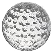 """Amlong Crystal Golf Balls Paperweight 3.5"""" with Gift Box"""