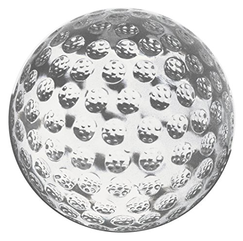 Amlong Crystal Golf Balls Paperweight 3 inch with Gift Box