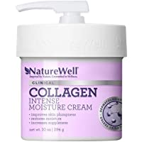 NatureWell Collagen Intense Moisturizing Cream for Face & Body, 10 oz. | Clinical | Increases Suppleness & Improves Skin…