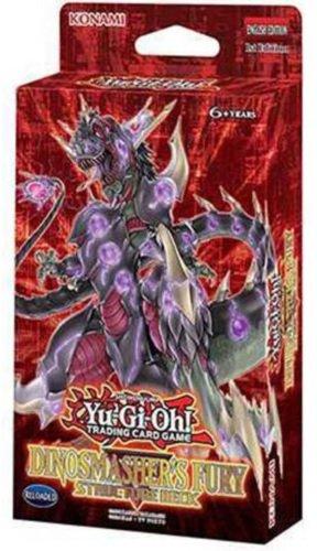 Yu-Gi-Oh! Pokplshtrnlit YuGiOh 2017 Structure Deck - Dinosmasher's Fury, Red ()