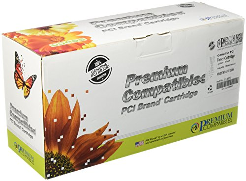 (Premium Compatibles Inc. TK18RPCI Replacement Ink and Toner Cartridge for Toshiba Printers, Black)