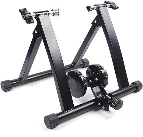 Kaibrite - Rodillo de entrenamiento con freno magnético para bicicleta de carreras, bicicleta estática, para entrenamiento en interiores y en casa