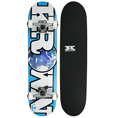 Krown World Rookie Complete Skateboard (Blue)