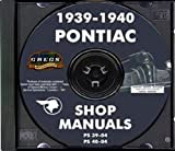 1939 1940 Pontiac Repair Shop Service Manual CD (With Key Chain)