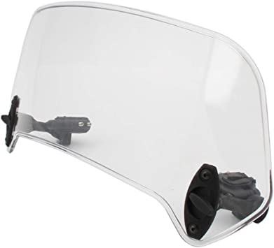 Universal Motorcycle Windshield Wind Deflector Scooter Windscreen For Harley