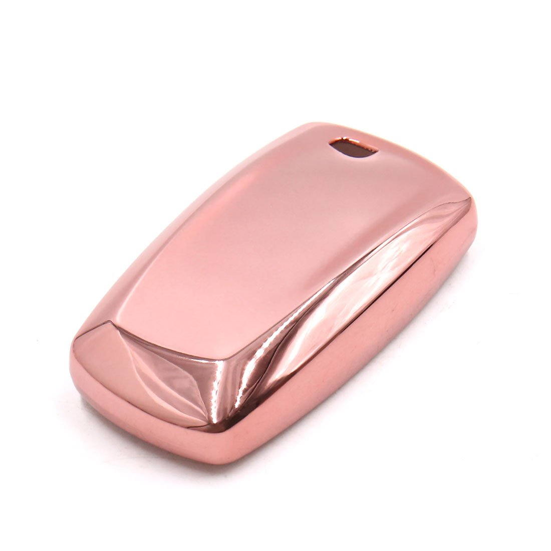 uxcell Pink Remote Key Case Holder Shell Protect Housing Cover Fit For BMW 7 Series