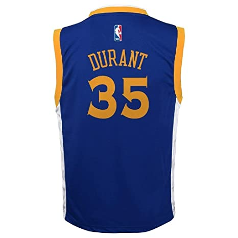 a043c72d9b311 Amazon.com : Outerstuff Kevin Durant Golden State Warriors #35 Blue ...