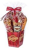 Popcornopolis Gourmet Popcorn 5 cone Gift Basket – Premium For Sale