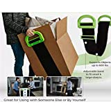 Moving Straps, Clever Carry, HmJay Lifting Strap for 2 Movers - Adjustable Shoulder Lifting Carrying and Moving Straps Easily Move Lift Carry Secure Furniture Heavy Objects