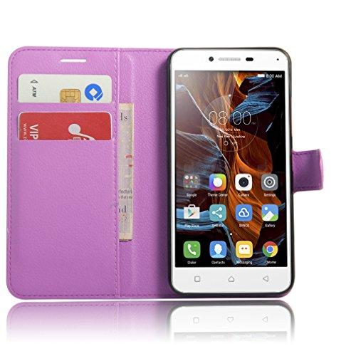 Funda Lenovo K5,Manyip Caja del teléfono del cuero,Protector de Pantalla de Slim Case Estilo Billetera con Ranuras para Tarjetas, Soporte Plegable, Cierre Magnético E