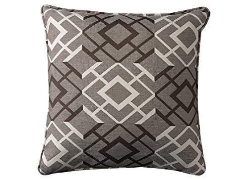 Ashley Furniture Signature Design - Raymond Throw Pillow - Contemporary - Brown/Cream [並行輸入品] B07R96QKVH