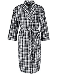 Mens Lightweight Woven Broadcloth Robe