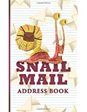 Snail Mail Address Book: Snail mail is still cool, and the snails still need a job.