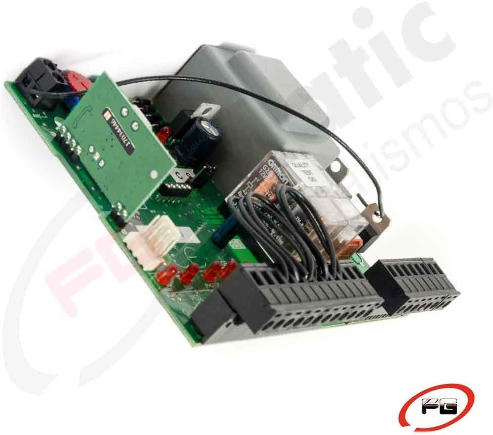 Placa de control Placa VDS EURO 230 M1 Cuadro de control para motores de corredera, basculantes contrapesadas, barreras entre otras aplicaciones. Alimentado a 230Vac.: Amazon.es: Bricolaje y herramientas