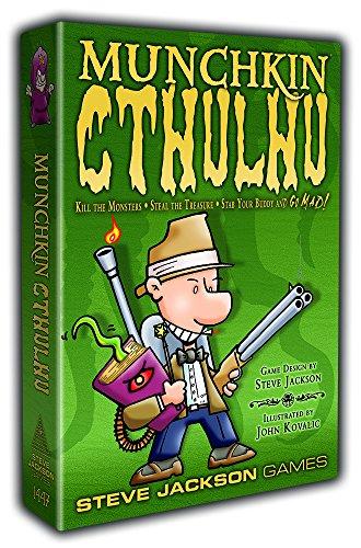 Munchkin Cthulhu (Munchkin Card Time Game Adventure)