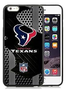 New Unique And Popular iPhone 6 Plus 5.5 Inch TPU Case Designed With Houston Texans Black iPhone 6 Plus