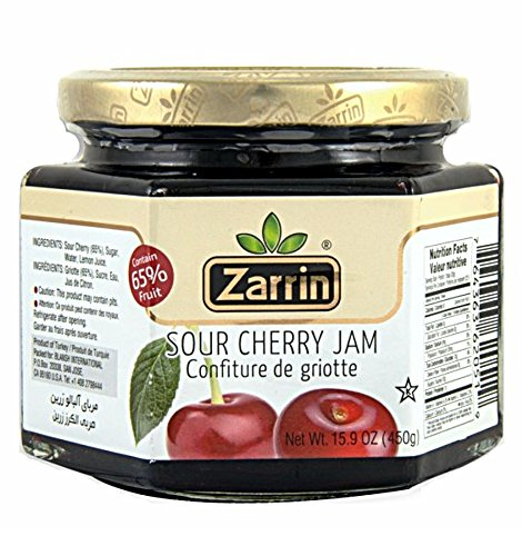 Zarrin, S. Cherry Jam, 15.87 oz (Cherry Jam Fresh)