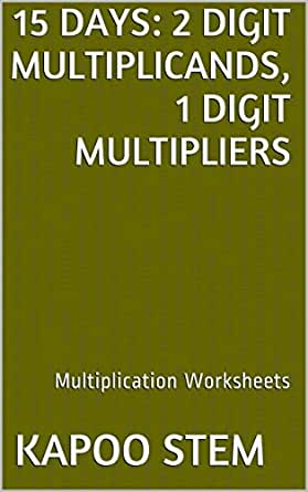 Amazon.com: 15 Multiplication Worksheets with 2-Digit ...