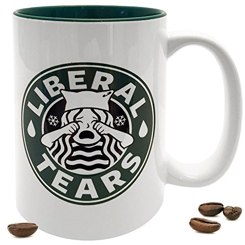 Liberal Coffee Starbucks Parody Snowflakes product image
